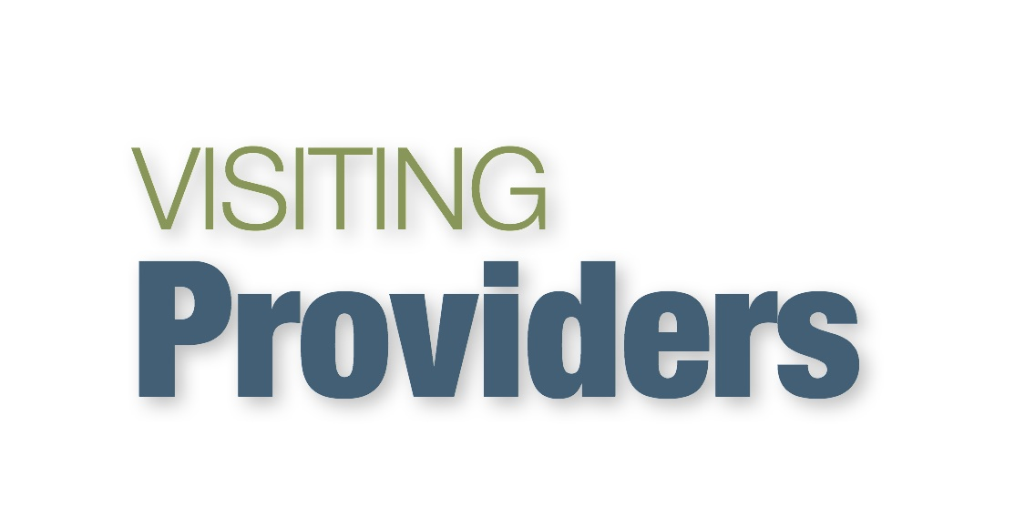 Visiting Providers logo for Website